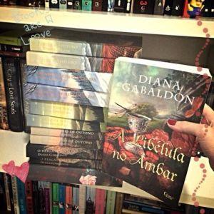 Minha coleção <3 - Em destaque o livro #2, A Libélula no âmbar, na época o mais difícil de encontrar ;)