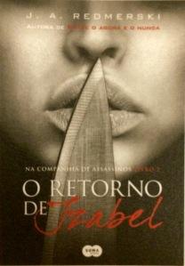 Capa brasileira de Reviving Izabel - O Retorno de Izabel - que será publicado pela Suma de Letras ainda esse ano.