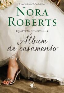 album de casamento quarteto de noivas nora roberts