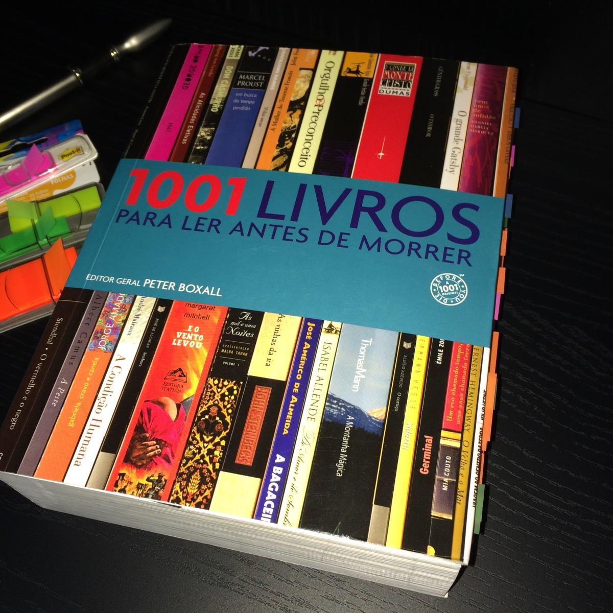 Projeto 1001 Livros (1001 Livros para ler antes de morrer)