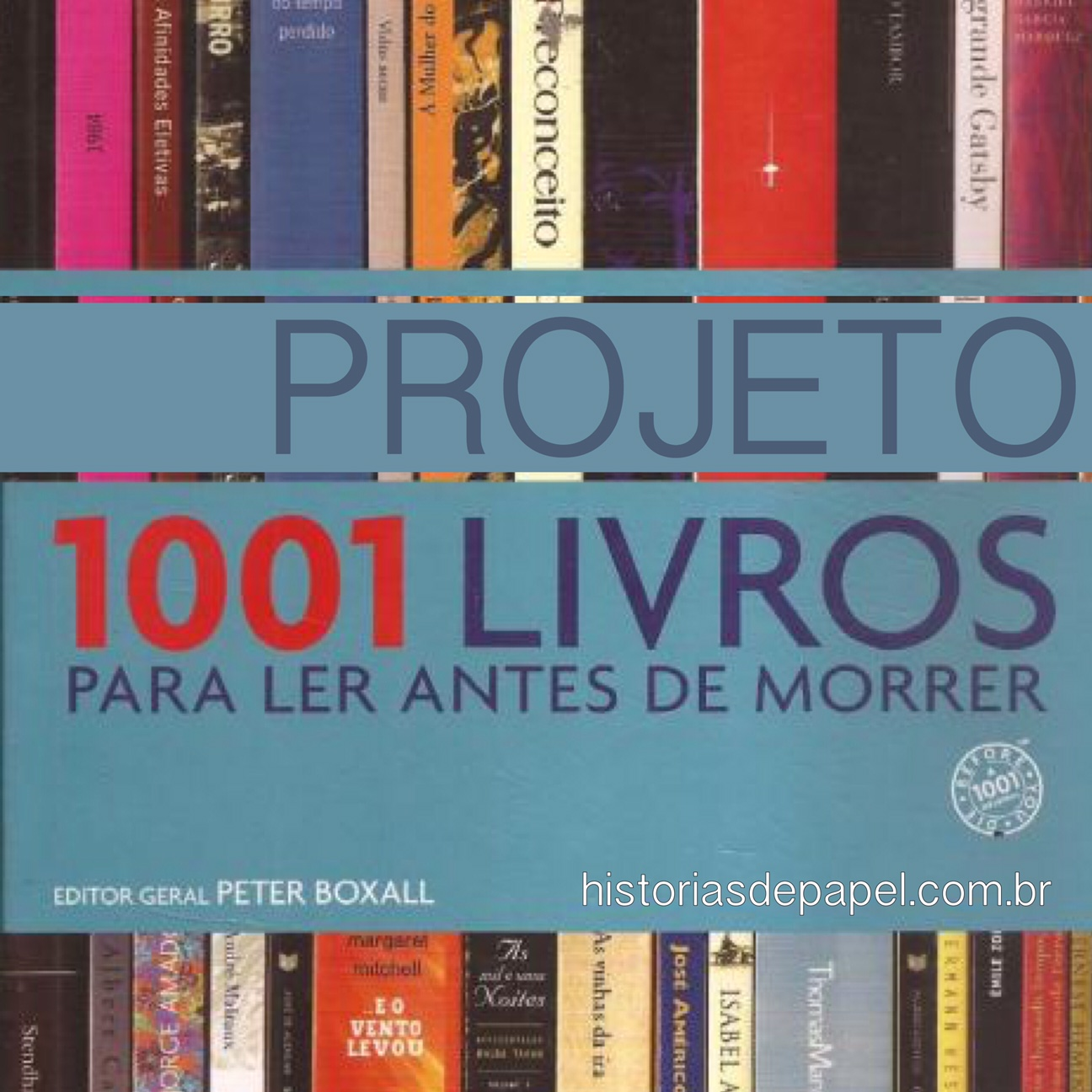 Projeto 1001 Livros