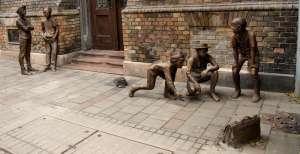 escultura budapeste os meninos da rua paulo